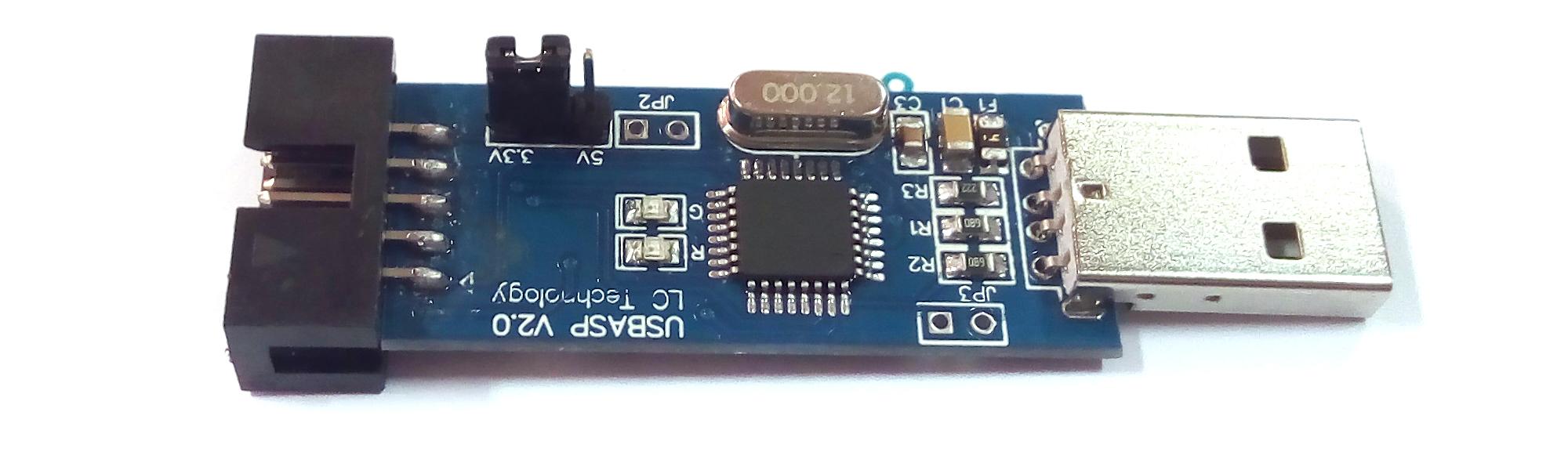 Прошивка flash-памяти 25xxx через программатор USBasp